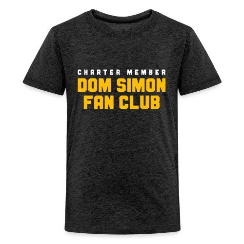 Dom Simon Fan Club - Kids' Premium T-Shirt