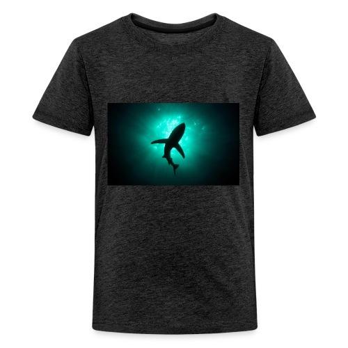 Shark in the abbis - Kids' Premium T-Shirt