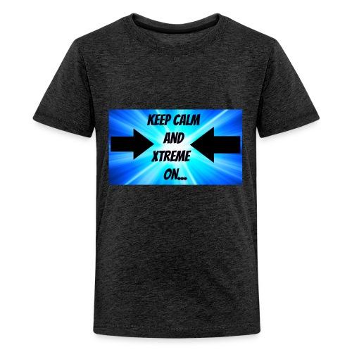 Keep calm and xtreme on - Kids' Premium T-Shirt