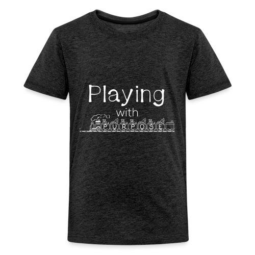 Playing With Purpose shirt - Kids' Premium T-Shirt