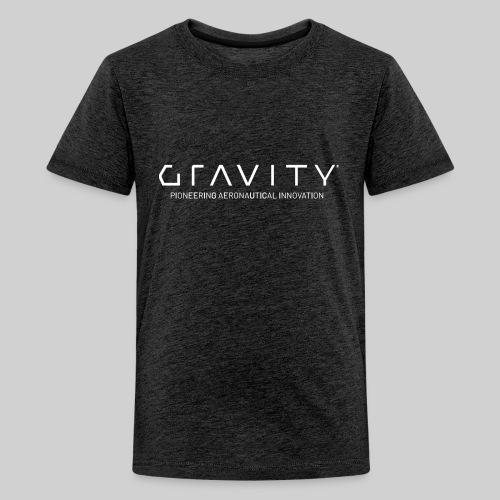 Gravity Logo with Tagline - Kids' Premium T-Shirt