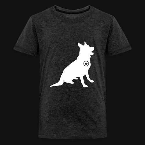 German Shepherd love - Kids' Premium T-Shirt