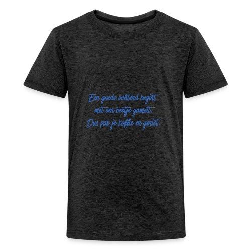 Kopje voor koffie - GAMEIT - Kids' Premium T-Shirt