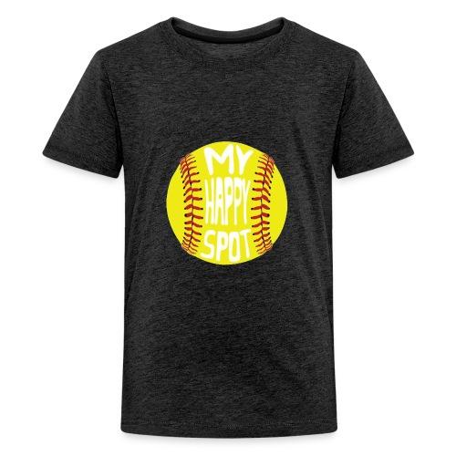 People s Republic of Burlington Softball - Kids' Premium T-Shirt