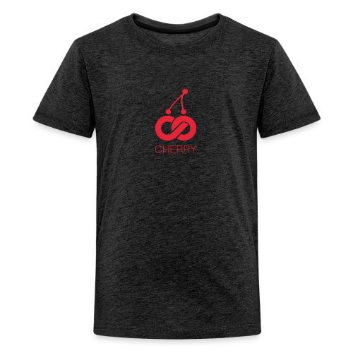 Cherry Red Logo - Kids' Premium T-Shirt