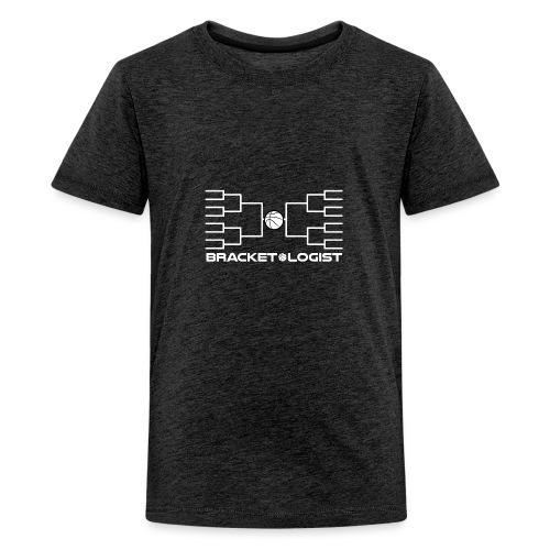 Bracketologist basketball - Kids' Premium T-Shirt