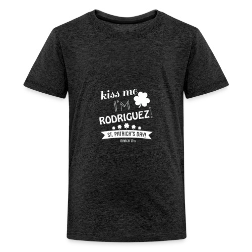 i'm mostly peace love and light and a little - Kids' Premium T-Shirt