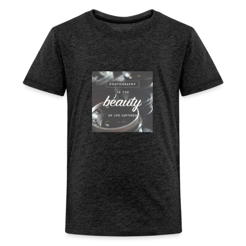 photograpy is beauty - Kids' Premium T-Shirt