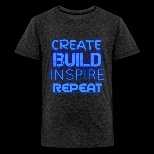 Create, Build, Inspire, Repeat - Kids' Premium T-Shirt
