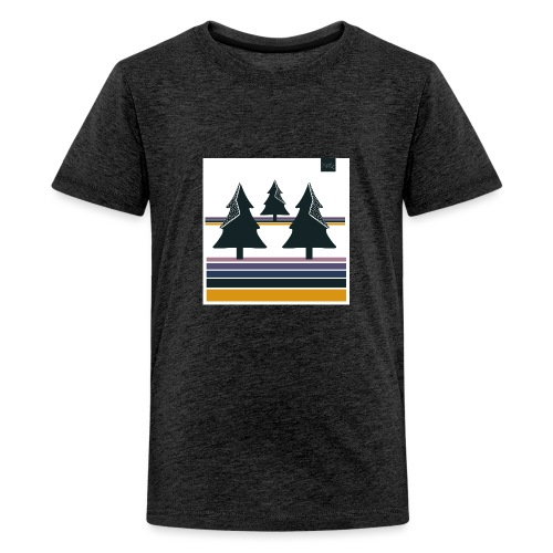 Trees on the Horizon - Kids' Premium T-Shirt