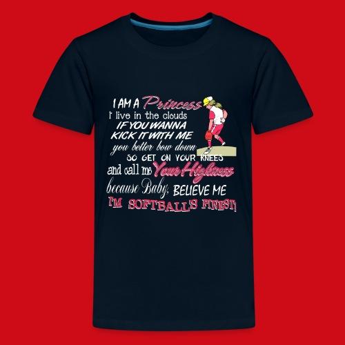 Softballs Finest - Kids' Premium T-Shirt