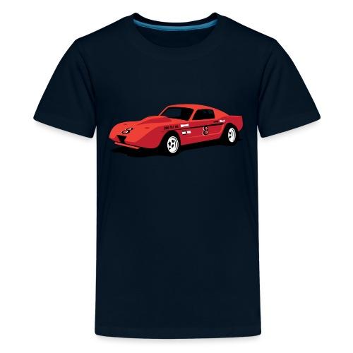 Vintage Hill Climb Race Car - Kids' Premium T-Shirt