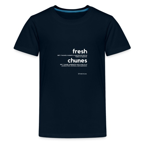Clothing for All Urban Occasions (Bk+Wt) - Kids' Premium T-Shirt