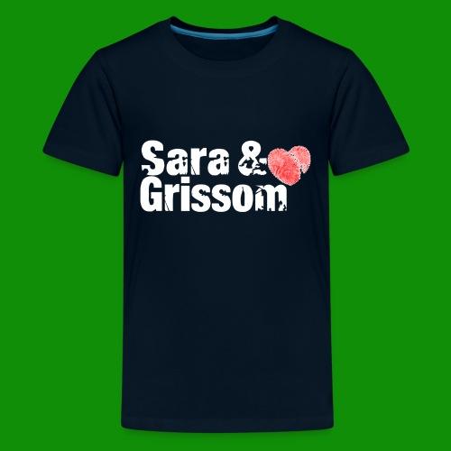 SARA & GRISSOM - Kids' Premium T-Shirt