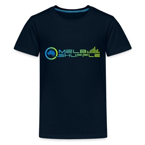 Melbshuffle Gradient Logo - Kids' Premium T-Shirt