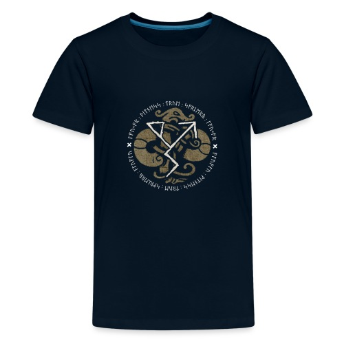 Witness True Sorcery Emblem (Alu, Alu laukaR!) - Kids' Premium T-Shirt