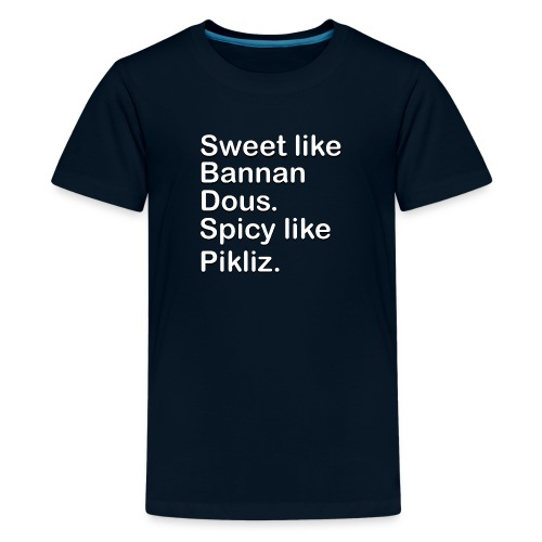 Sweet Like Bannan Dous - Kids' Premium T-Shirt