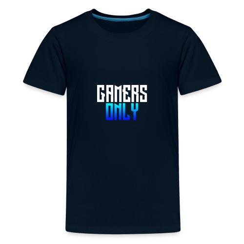 Gamers only - Kids' Premium T-Shirt
