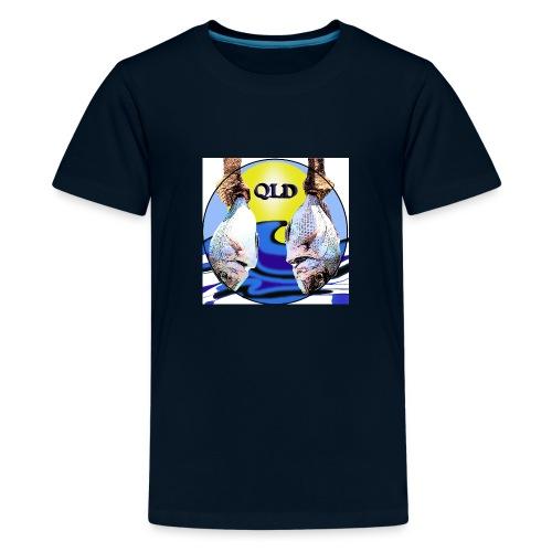 Qld fishing snapper fish - Kids' Premium T-Shirt