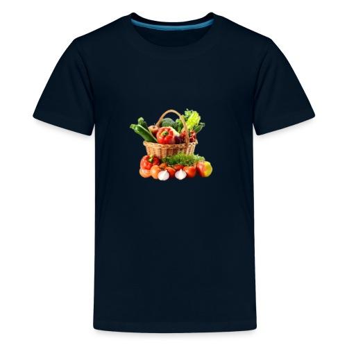 Vegetable transparent - Kids' Premium T-Shirt