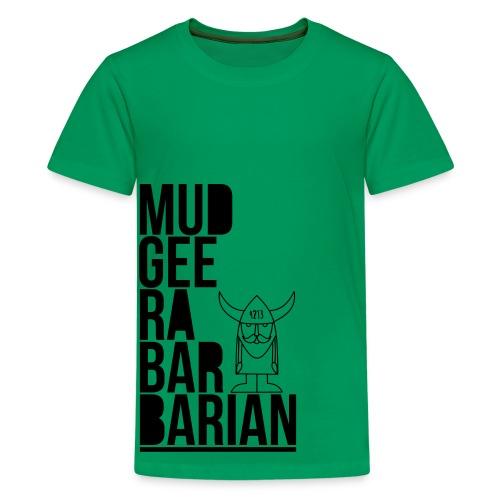 Mudgee Stack Black - Kids' Premium T-Shirt
