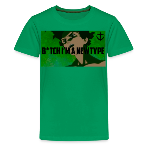 Bish I m a newtype - Kids' Premium T-Shirt