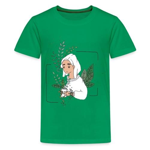 Plant Aesthetic - Kids' Premium T-Shirt