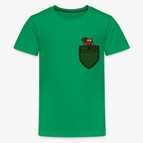 hemd squirell green - Kids' Premium T-Shirt
