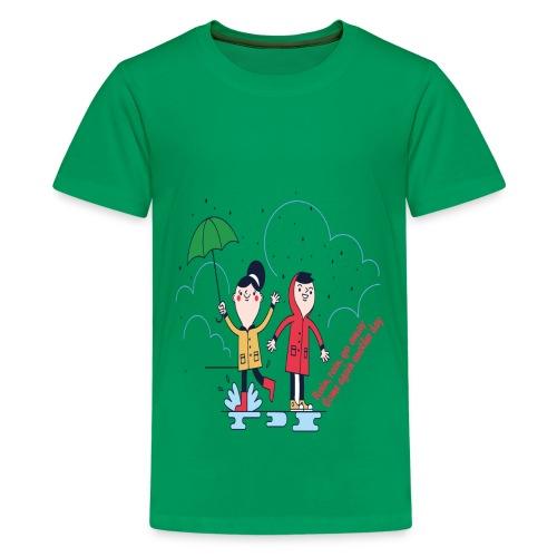 rain go away - Kids' Premium T-Shirt
