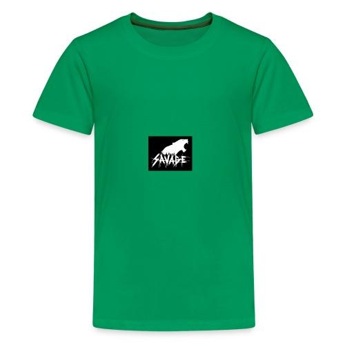 802020735e7f77178b7619afb556803a savages work on - Kids' Premium T-Shirt