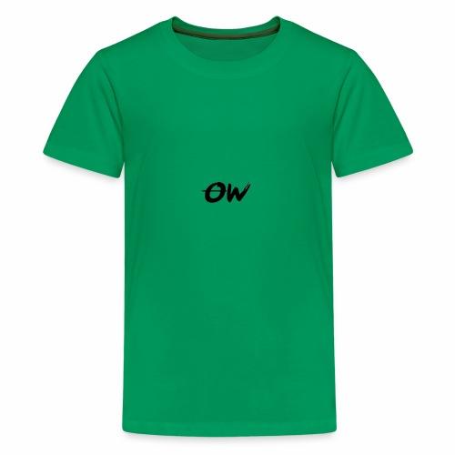 Simple Letter Logo Design - Kids' Premium T-Shirt