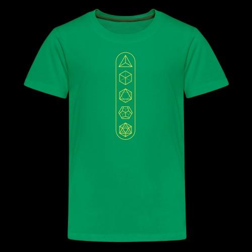 platonic-solids - Kids' Premium T-Shirt
