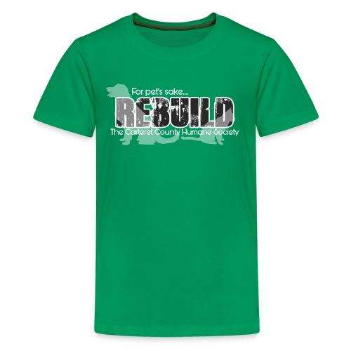 Rebuild The Carteret County Humane Society - Kids' Premium T-Shirt