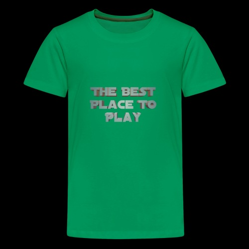 The Best Place To play - Kids' Premium T-Shirt