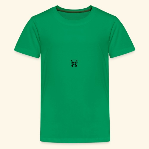 Glass wearing panda - Kids' Premium T-Shirt