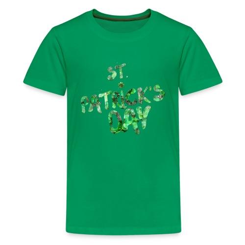 St Patrick's Day Holiday t-shirt - Kids' Premium T-Shirt