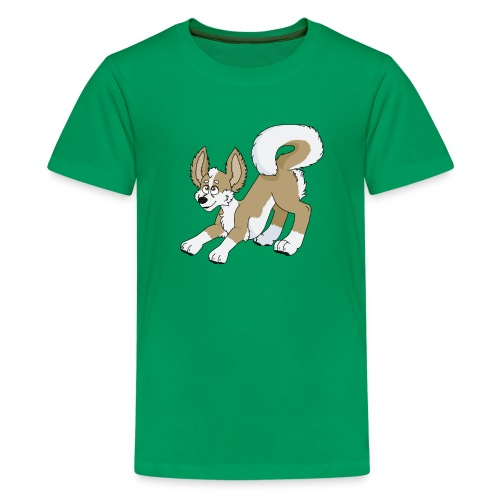 Crouching Chihuahua - Kids' Premium T-Shirt