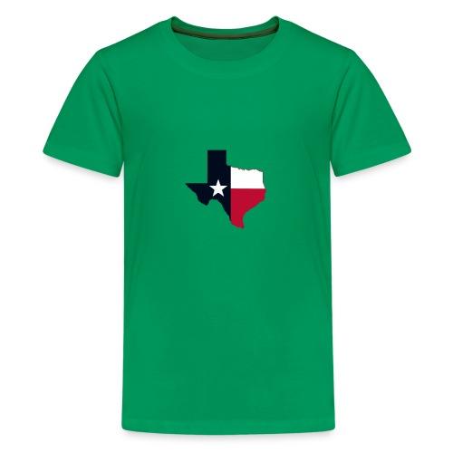 Texas Worlds greatest country - Kids' Premium T-Shirt