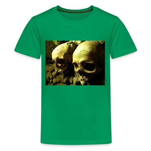 Skull design realistic 2 - Kids' Premium T-Shirt