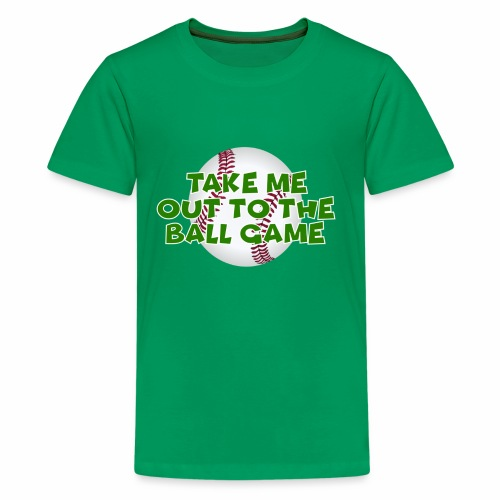 Take me out to the ball game - Kids' Premium T-Shirt