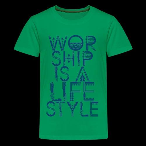 WORSHIP - Kids' Premium T-Shirt