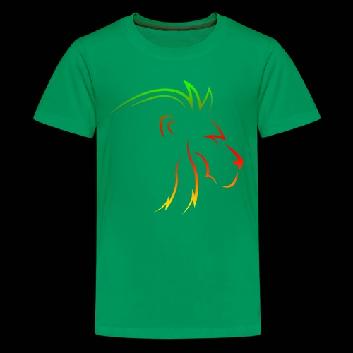 Rainbow lion - Kids' Premium T-Shirt