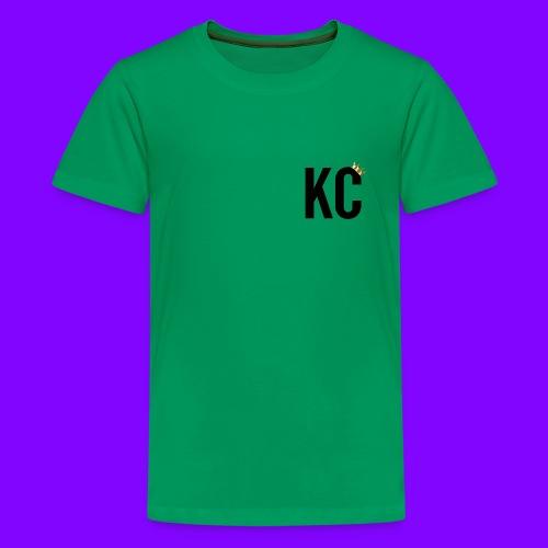 Black Font KC - Kids' Premium T-Shirt