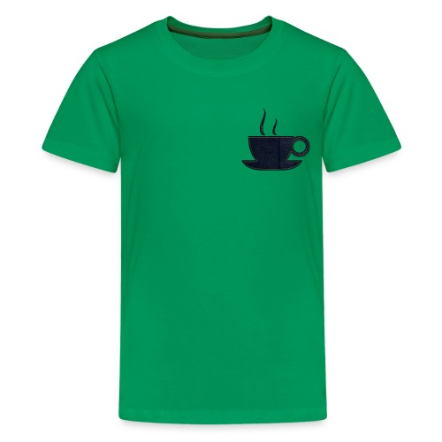 Tea Cup Design - Kids' Premium T-Shirt