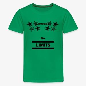 Racer black - Kids' Premium T-Shirt