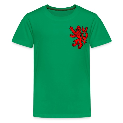 english lion oscarb apparel - Kids' Premium T-Shirt
