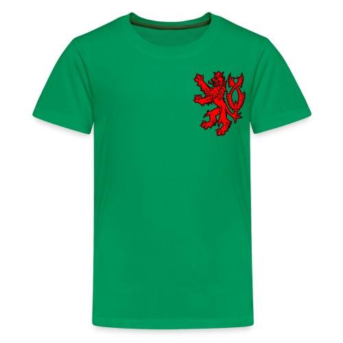 english lion oscarb apparel - Kids' Premium T-Shirt