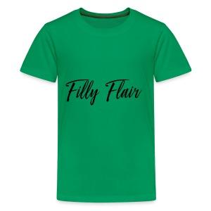 fillyflair blk - Kids' Premium T-Shirt