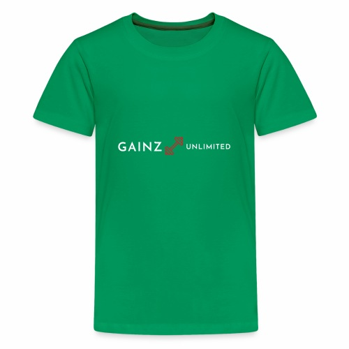 Gainz unlimited - Kids' Premium T-Shirt