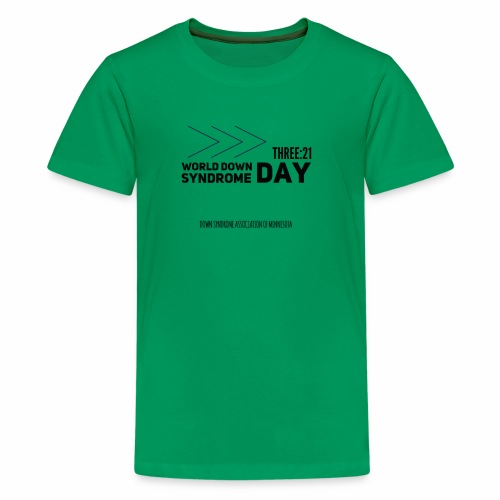 World Down Syndrome Day with Arrows - Kids' Premium T-Shirt